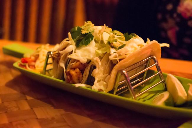 Trader Sam's - Shrimp Tacos