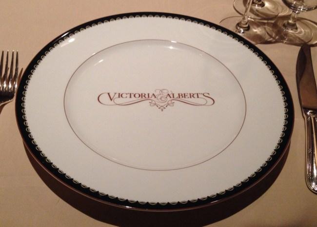 Plate - Victoria & Albert's - Disney World Dining