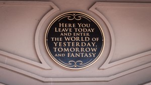 Magic Kingdom Entrance Sign - Walt Disney World