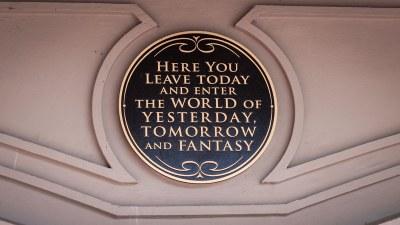Magic Kingdom Entrance Sign - Walt Disney World