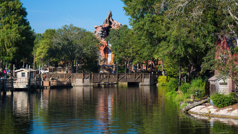 Rivers of America - Magic Kingdom - Disney World