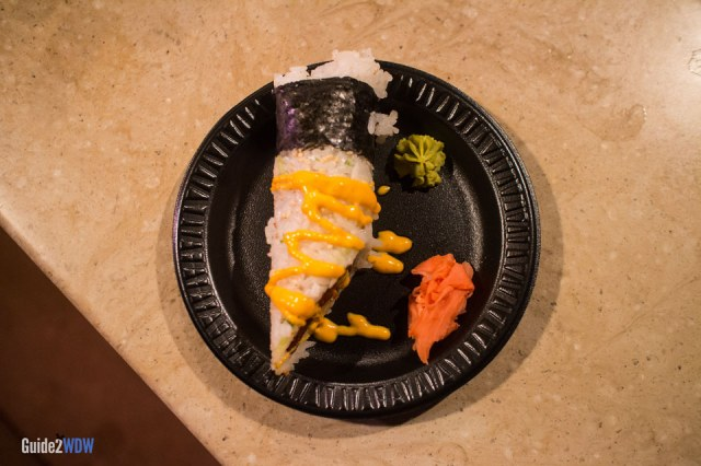 Spicy Hand Roll - Japan - 2014 Epcot International Food & Wine Festival - Disney World