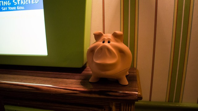 Great Piggy Bank Adventure - Walt Disney World