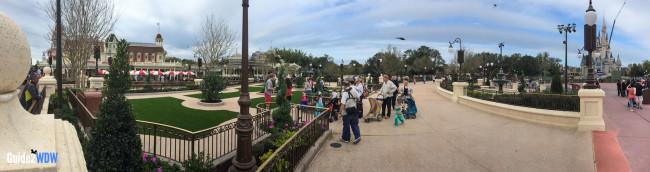 Panorama - Plaza Gardens East at Magic Kingdom   Guide2WDW