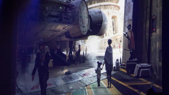 Star Wars Land Concept Art