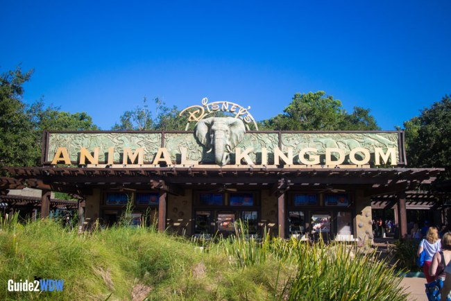 Animal Kingdom Entrance - Walt Disney World