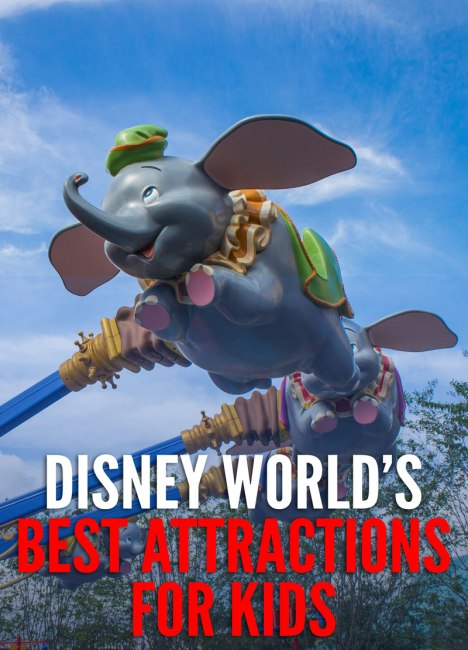 The Best Attractions for Kids at Disney World