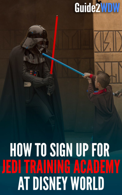 A step-by-step guide on how to sign up for a must-do for any young Star Wars fan at Disney World.