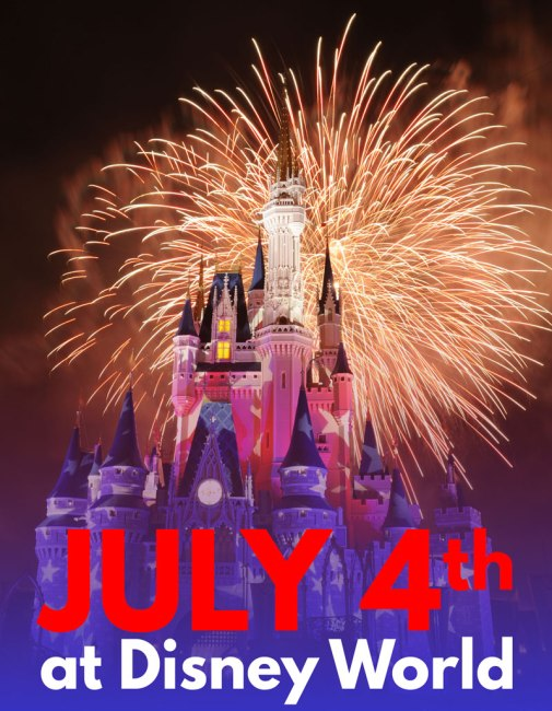 July 4th Festivities at Disney World