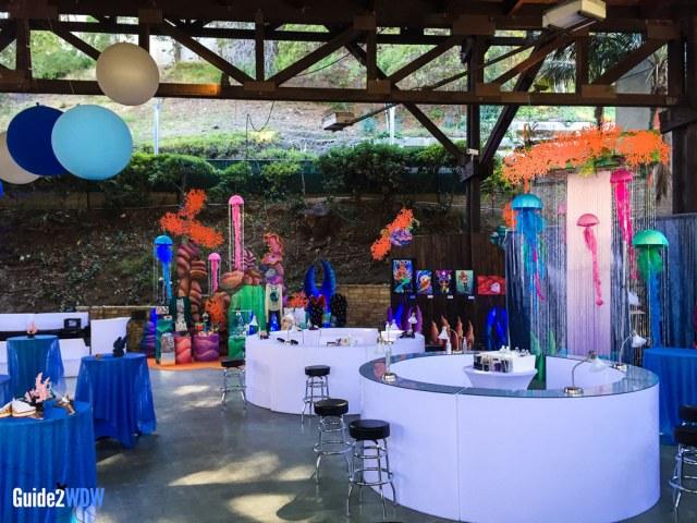 Little Mermaid VIP Area