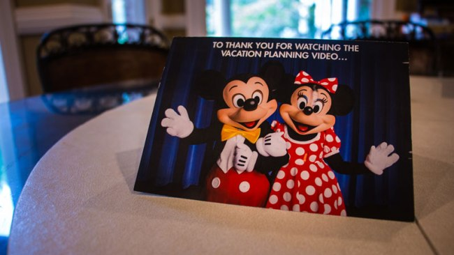 Free Disney World Vacation DVD