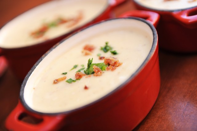 Cheese Soup - Canada - Epcot Food and Wine Festival