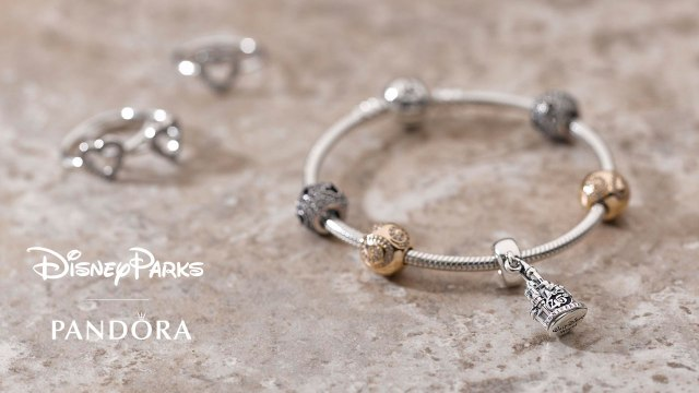 Disney World 45th Anniversary Pandora Charm