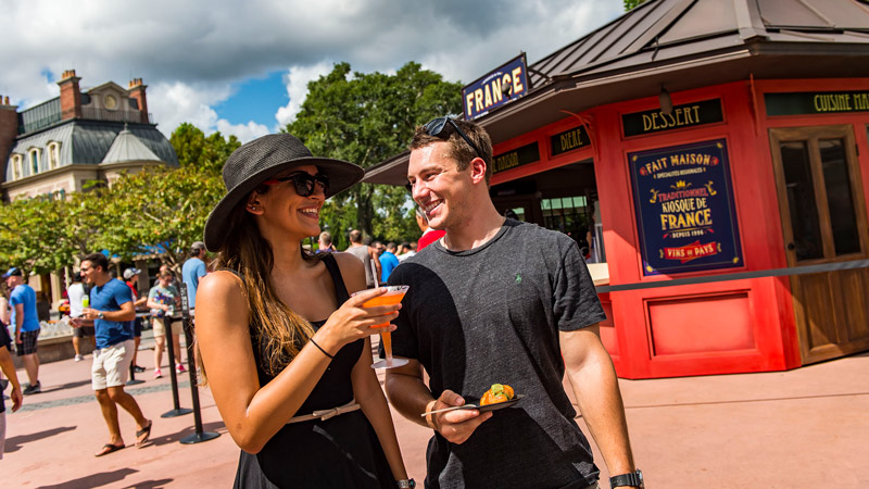 Check Out the 2017 Epcot Food & Wine Festival Booth Menus!