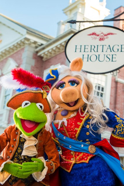 Muppets at Magic Kingdom