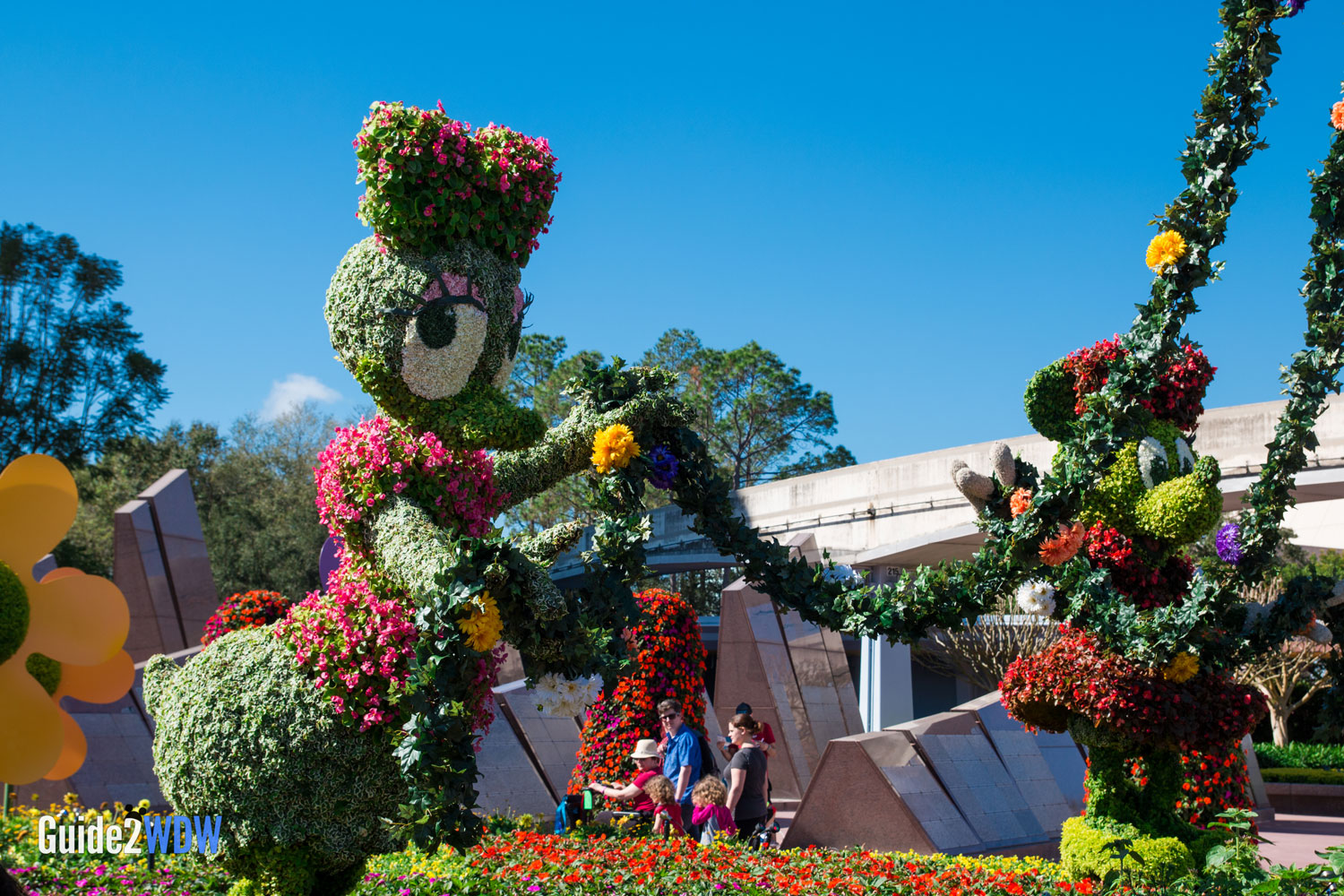 The topiaries of the 2017 Epcot Flower & Garden Festival