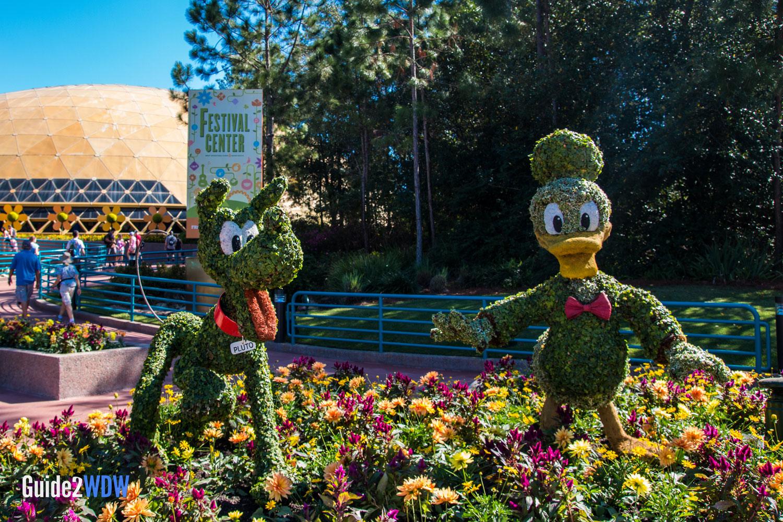 Disney World Entrance Flowers 61857 Linepc