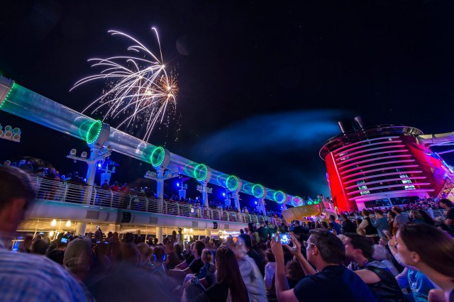Fireworks - Disney Cruise Line