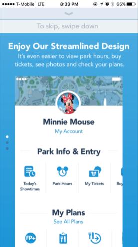 My Disney Experience App Tutorial