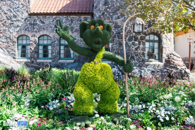 Norway Troll - Topiaries at the Epcot Flower and Garden Festival