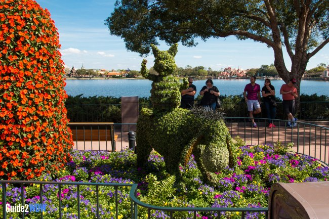 Piglet and Eeyore Topiary - Topiaries at the Epcot Flower and Garden Festival