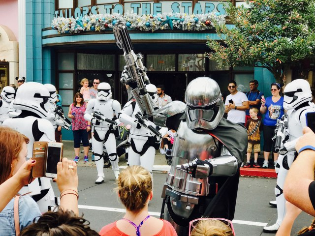 Star Wars - Captain Phasma at Disney World
