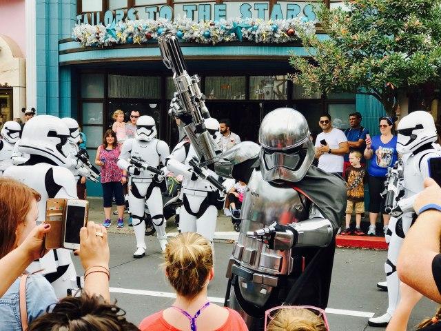 Star Wars - Captain Phasma at Disney World