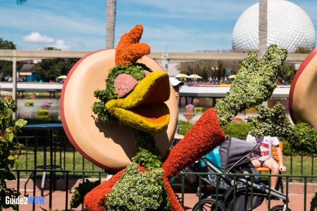 Three Caballeros - Topiaries at the Epcot Flower and Garden Festival