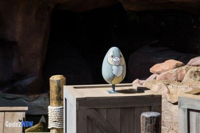 Thumper Egg - Epcot Eggstravaganza - Epcot Flower & Garden Festival