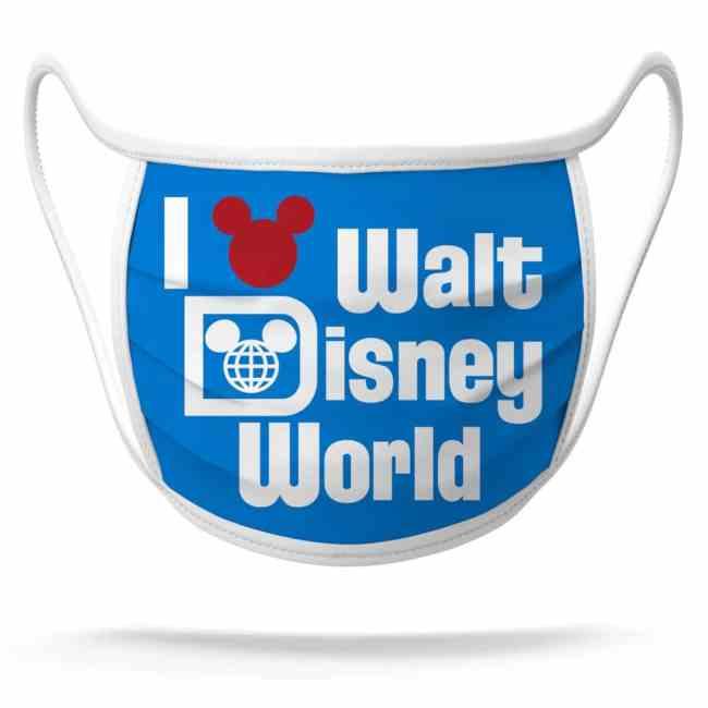 Disney World Face Mask