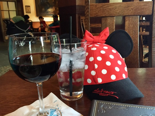 Disneyland as an Adult - Wine and Mouse Ears