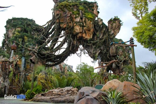 Pandora - Floating Mountains - The World of Avatar Preview - Disney's Animal Kingdom
