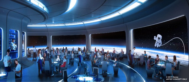 Space Restaurant - Epcot