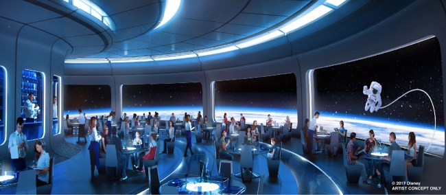 Space Restaurant - Epcot
