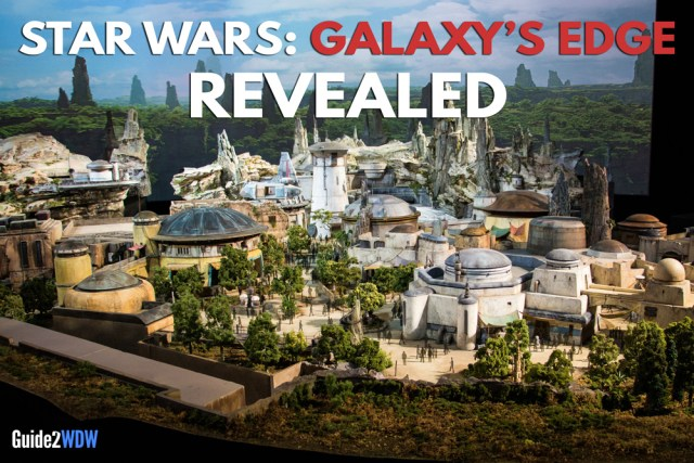 Model and Details Revealed - Star Wars: Galaxy's Edge Model - Disneyland and Disney World