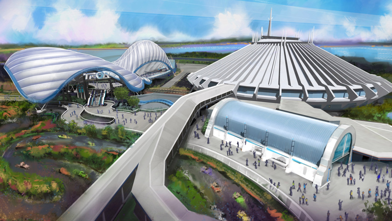 D23 Magic Kingdom News: Tron Coaster, New Main Street Theater Revealed