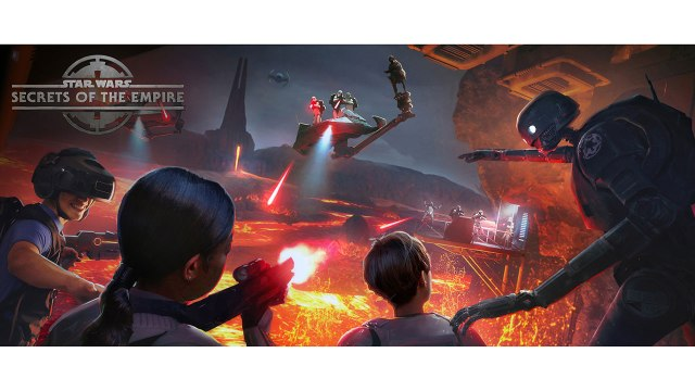 Star Wars: Secrets of the Empire VR Experience