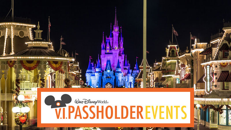 Disney World announces V.I.Passholder Nights for Annual Passholders