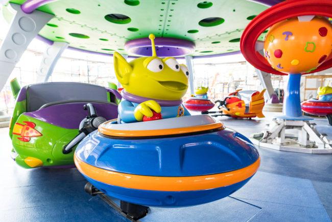 Aliens Swirling Saucers - Toy Story Land - Disney's Hollywood Studios - Walt Disney World