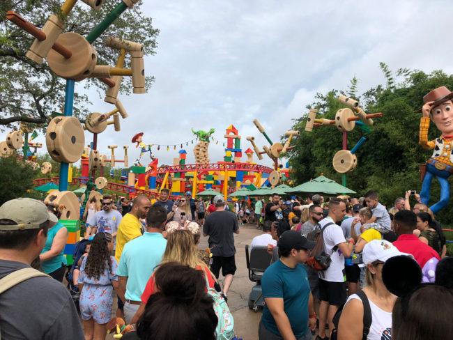 View - Toy Story Land - Disney's Hollywood Studios - Walt Disney World