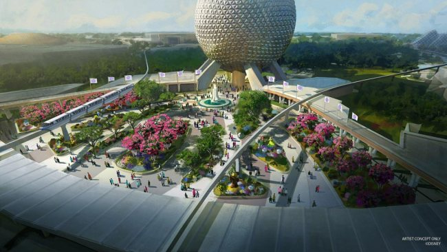 Epcot - New Entrance Concept Art - Disney World