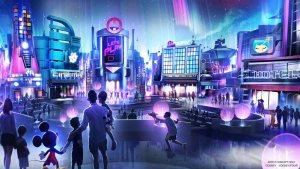 Epcot - Play Pavilion - Concept Art - Disney World