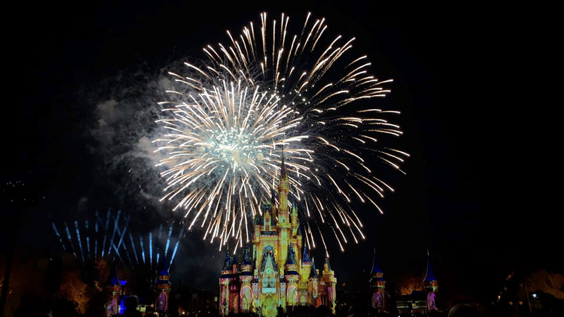 VIDEO: Happily Ever After Fireworks – Full Show in 4K