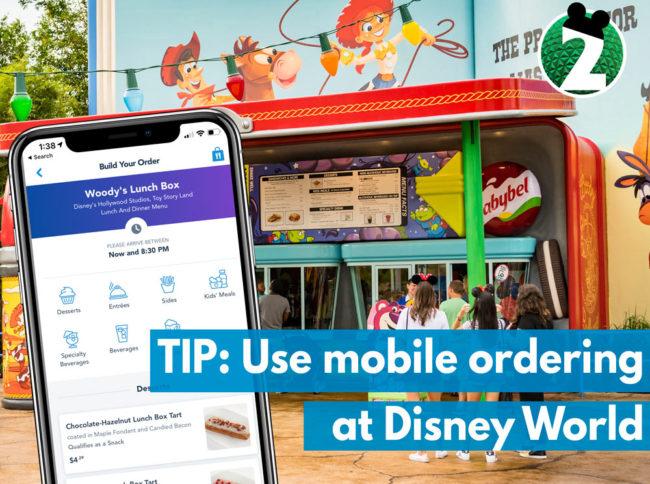 Disney World Tip: Use Mobile Ordering