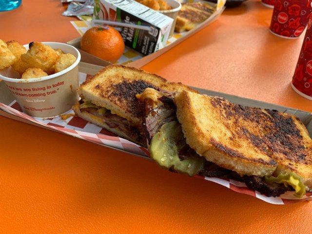 Woody's Lunch Box - Brisket Sandwich