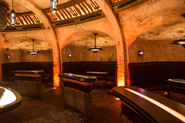 Cantina Interior - Oga's Cantina Review - Star Wars Galaxy's Edge - Guide2WDW
