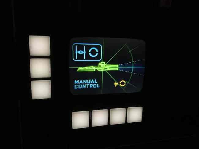 Manual Control- Millennium Falcon Smugglers Run Ride Guide- Guide2WDW