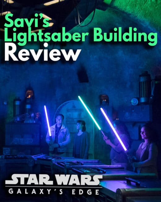 Savi's Lightsaber Building Review - Star Wars Galaxy's Edge - Disneyland and Disney World