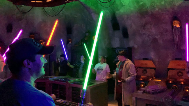 Savi's Lightsaber Reveal - Star Wars Galaxy's Edge
