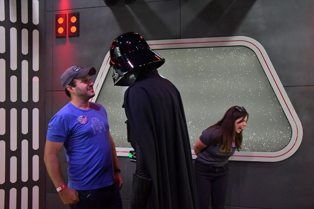 Darth Vader Star Wars Galaxys Edge- Disneyland- Guide2WDW1
